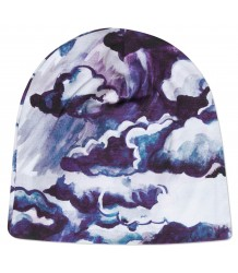 Mini Rodini CLOUDS Beanie Mini Rodini CLOUDS Beanie purple