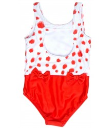 Mini Rodini Bow Swimsuit TACHES Mini Rodini Bow Swimsuit TACHES