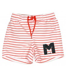 Mini Rodini STRIPE Swimshorts Mini Rodini STREEP Swimshorts red