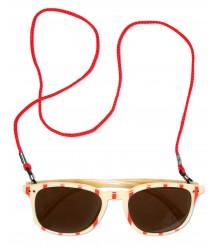 Mini Rodini Sunglasses STRIPE Mini Rodini Sunglasses STREEP red