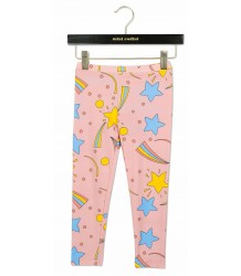 Mini Rodini SPACE Leggings Mini Rodini SPACE Leggings pink