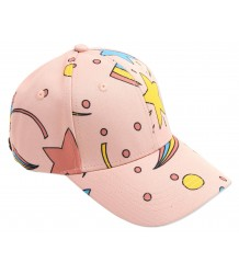 Mini Rodini SPACE Cap Mini Rodini SPACE Cap pink