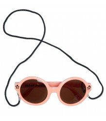 Mini Rodini Round Sunglasses PANDA Mini Rodini Round Sunglasses PANDA pink