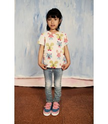 Mini Rodini SPOT Sneaker Mini Rodini SPOT Sneaker pink and blue