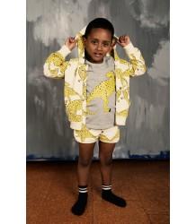 Mini Rodini T-REX Zip Hood Mini Rodini T-REX Zip Hood yellow