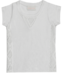 Simple Kids Linen Tee SWAN Simple Kids Linen Tee SWAN white