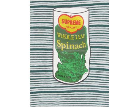 Simple Kids Stripe Tee SPINACH
