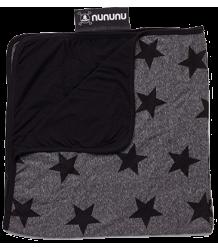 Nununu Blanket STAR Nununu Blanket STER donker grijs melange