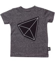 Nununu Patch T-shirt GEOMETRIC Nununu Patch T-shirt GEOMETRIC charcoal
