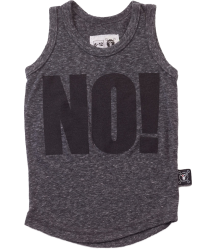 Nununu Tank Top NO! Nununu Tank Top NO! charcoal