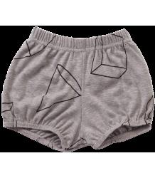 Nununu Yoga Shorts GEOMETRIC Nununu Yoga Shorts GEOMETRIC grijs melange
