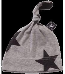 Nununu Baby Hat STAR Nununu Baby Hat STER grey melange