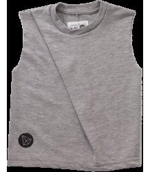 Nununu Front Fold Shirt Nununu Front Fold Shirt grey melange