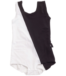 Nununu ½ & ½ Swimsuit Nununu ? & ? Swimsuit black and white