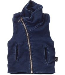 Nununu Denim French Terry Vest Nununu Denim French Terry Vest