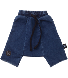 Nununu Denim Harem Shorts Nununu Denim Harem Shorts