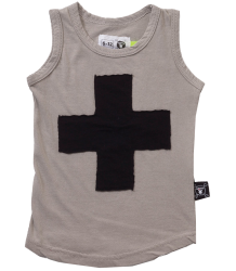 Nununu Tank Top PLUS PATCH Nununu Tank Top PLUS PATCH grey