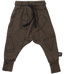 Nununu Baggy Pants GEOMETRIC Nununu Baggy Pants GEOMETRIC  olive green
