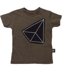 Nununu Patch T-shirt GEOMETRIC Nununu Patch T-shirt GEOMETRIC olive