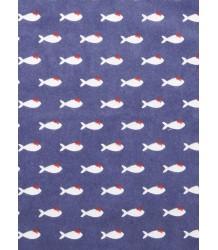 Emile et Ida Tee Shirt FISH Emile et Ida Tee Shirt VIS blue