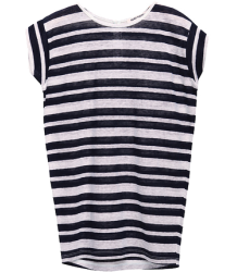 Alba - Stripe Tunic Miss Ruby Tuesday Alba - Stripe T-shirt Kap Mouw