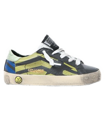 Golden Goose Superstar FLAG Golden Goose Superstar FLAG grey