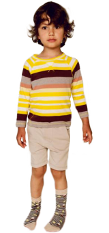 STRIPED Kidscase outfit