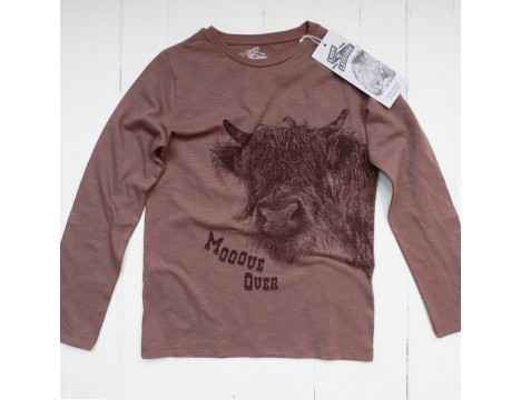 Lion of Leisure T-shirt LS COW