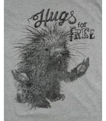 Lion of Leisure T-shirt PORCUPINE Lion of Leisure T-shirt PORCUPINE