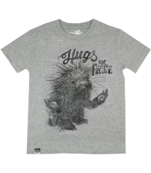 Lion of Leisure T-shirt PORCUPINE Lion of Leisure T-shirt STEKELVARKEN