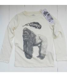 Lion of Leisure T-shirt LS GORILLA Lion of Leisure T-shirt LS GORILLA off-white