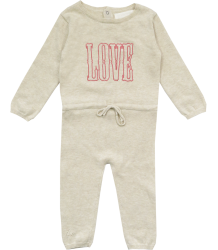 Zadig & Voltaire Kid Baby Knit Overall LOVE Zadig & Voltaire Kid Baby Knit Overall LOVE