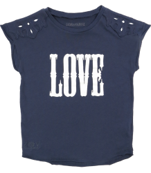 Zadig & Voltaire Kid Tee Shirt Boy LOVE Zadig & Voltaire Kid Tee Shirt Boy LOVE