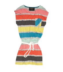 Finger in the Nose Cassy Belted Dress Finger in the Nose Cassy Heather Grey Stripes Tee
