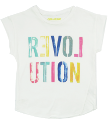 Zadig & Voltaire Kid Tee Shirt REVOLUTION Zadig & Voltaire Kid Tee Shirt REVOLUTION