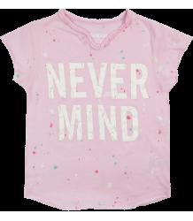 Zadig & Voltaire Kids Tee Boxo NEVER MIND Zadig & Voltaire Kid Tee Boxo NEVER MIND pink