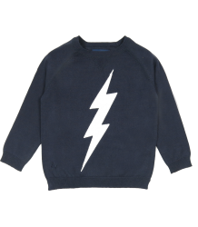 Zadig & Voltaire Kid Sweater BLIKSEM Zadig & Voltaire Kid Sweater LIGHTNING navy