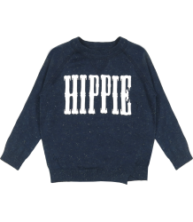 Zadig & Voltaire Kids Lurex Sweater HIPPIE Zadig & Voltaire Kid Lurex Sweater HIPPIE Navy and silver