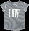 Zadig & Voltaire Kids Tee Boxer LOVE Zadig & Voltaire Kid Tee Boxer LOVE STriped