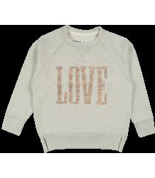 Zadig & Voltaire Kids Ola Sweatshirt LOVE Zadig & Voltaire Kid Ola Sweatshirt LOVE