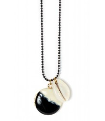 April Showers by Polder Kreta Necklace 1 April Showers by Polder Kreta Necklace 1 DIP BLACK