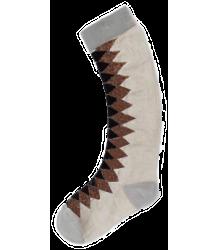 Polder Girl Tristan Long Socks April Showers by Polder Tristan Long Socks cream