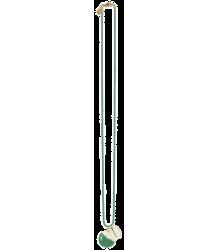 Polder Girl Kreta Necklace 1 April Showers by Polder Kreta Necklace 1 green