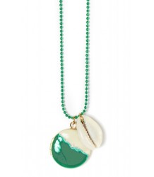 Polder Girl Kreta Necklace 1 April Showers by Polder Kreta Necklace 1 green