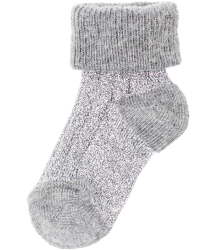 Polder Girl Train Baby Socks April Showers by Polder Train Baby Socks silver