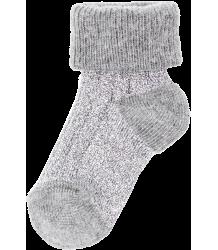 Polder Girl Train Baby Socks April Showers by Polder Train Baby Socks silver