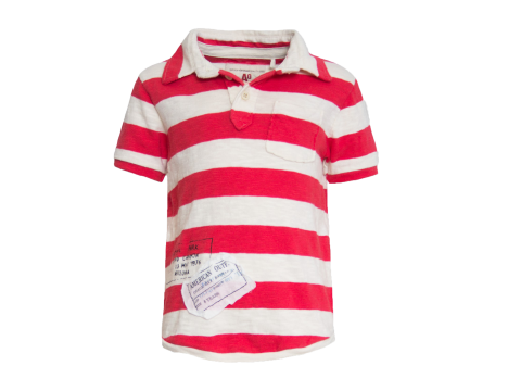 American Outfitters Striped Polo