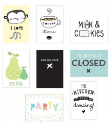 A Little Lovely Company Poster Lightbox Sheets KITCHEN A Little Lovely Company Poster Lightbox Sheets KITCHEN