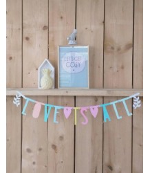 A Little Lovely Company Poster Lightbox Sheets LOVE A Little Lovely Company Poster Lightbox Sheets LOVE
