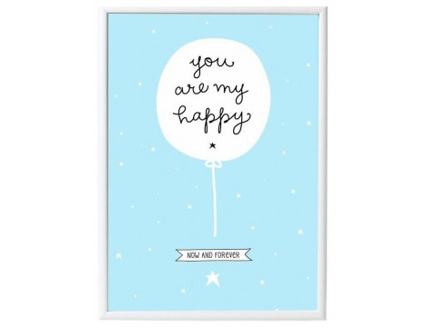 A Little Lovely Company Poster MY HAPPY